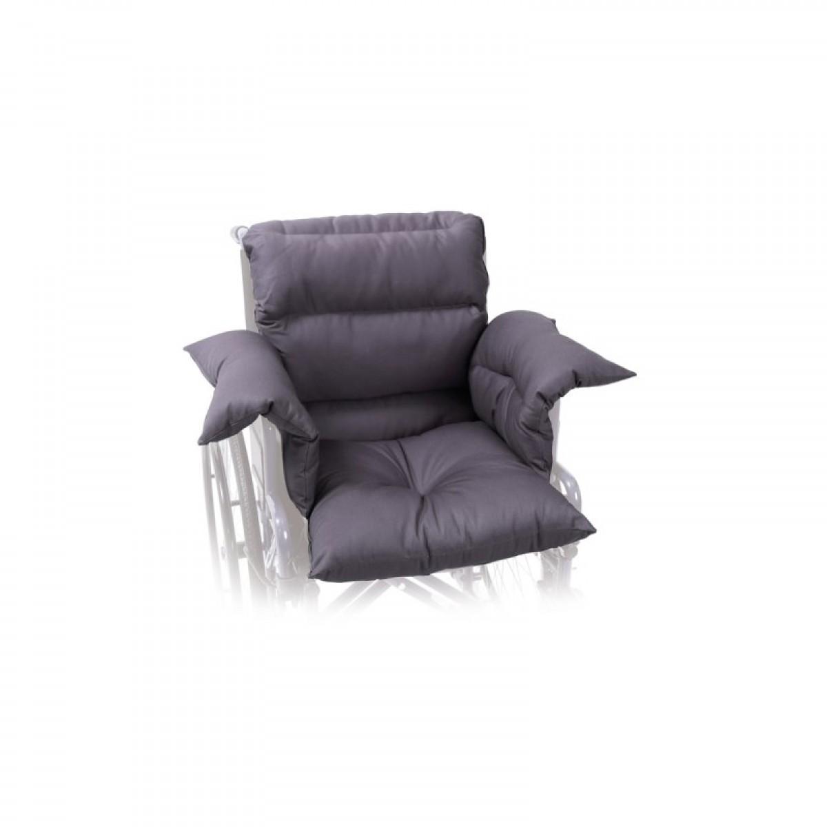 Cuscino Antidecubito In Fibra Cava Siliconata.Cuscino In Fibra Cava Siliconata Set 3 Elementi Cerniere Fodero