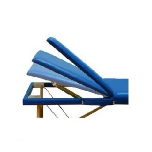 Lettino da massaggio in legno pieghevole per fisioterapisti
